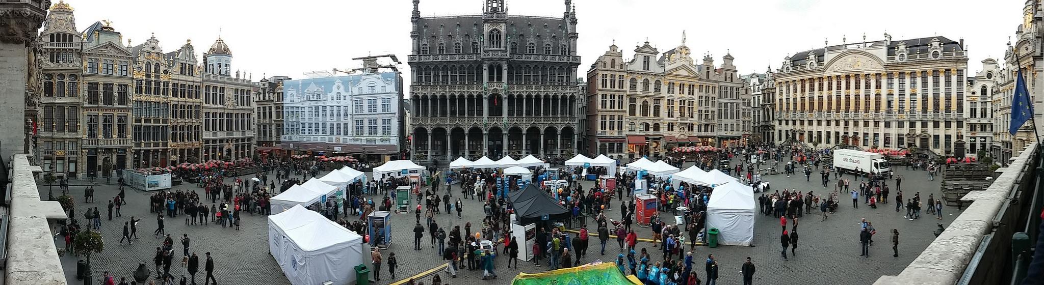 La Grand Place, Brussels UN DAY 2015
